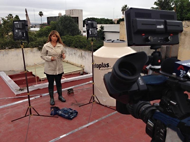 Covering Category 5 Hurricane Patricia