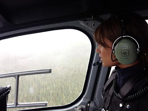 Fly Over Fatal Crash Site