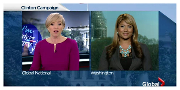 Hillary Clinton joins the Presidential Race