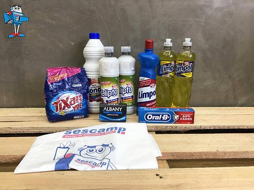 Kit Básico Higiene e Limpeza