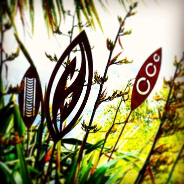 A Rusty Affair - Corten garden spears - 9 designs available - $85 each