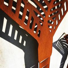 Nikau Palm Wall Art - Corten