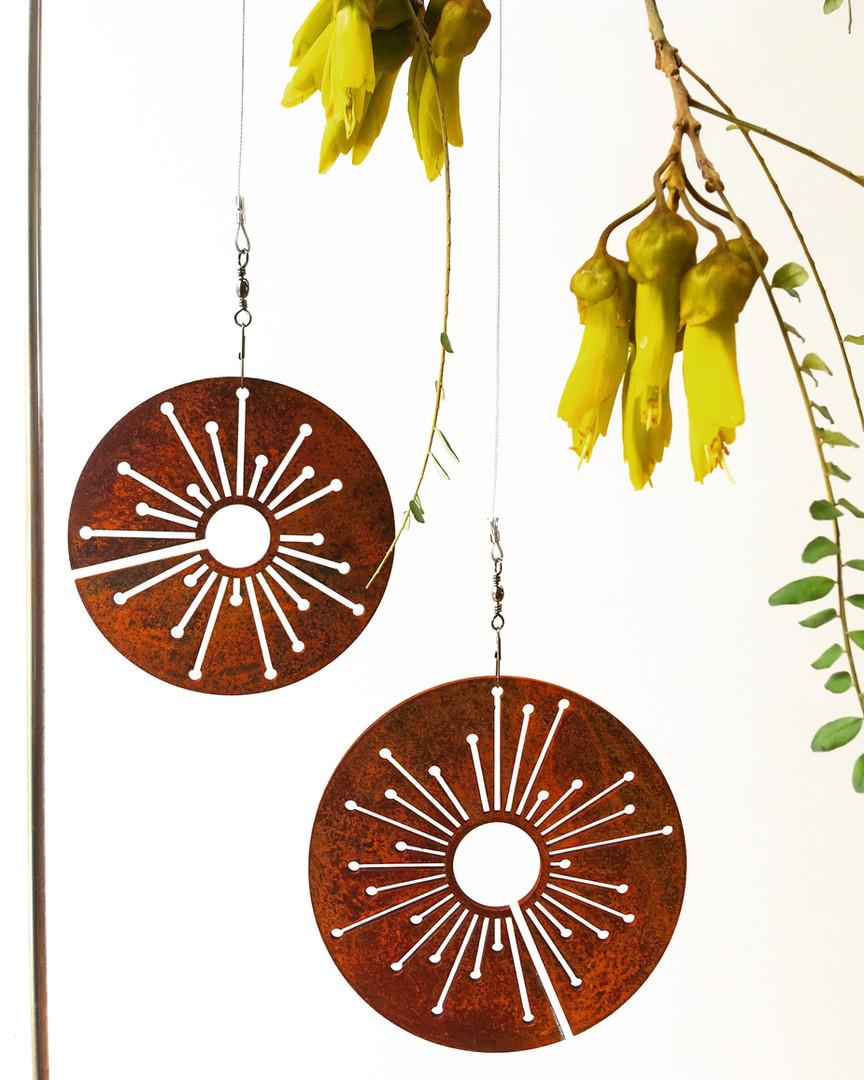 Corten Spinning Alliums - from $30
