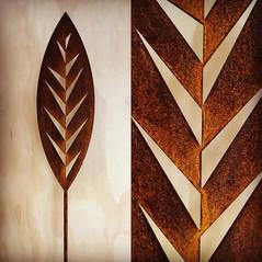 Corten Leaf