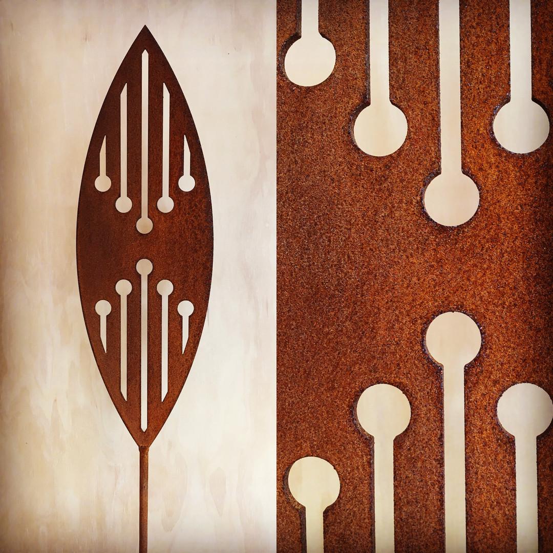 Corten Spear - Reflection design - $85 each