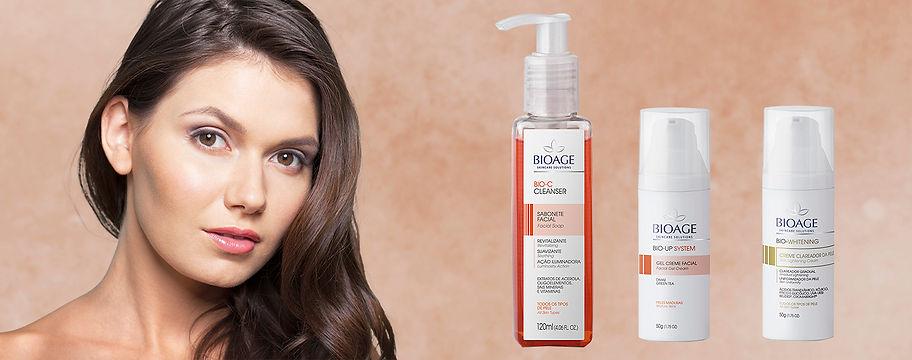 Irradie Beleza cosméticos Clareamento Bioage