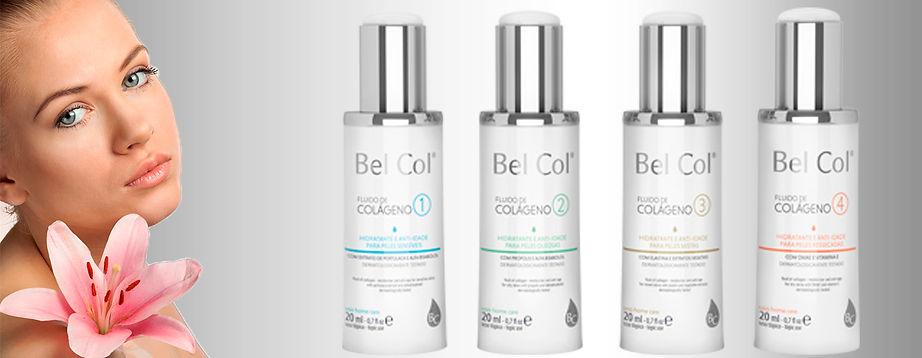 Irradie Beleza cosméticos colágeno Bel Col