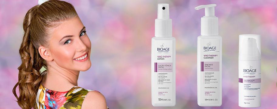 Irradie Beleza Cosméticos Vino Therapy Bioage