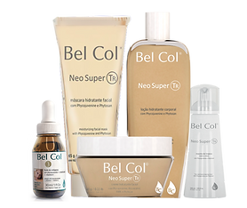 Bel Col cosméticos, Irradie Beleza;cosméticos e maquiagem, maquiagem e linha facial