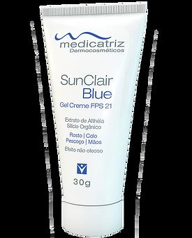 Irradie Beleza cosméticos - Medicatriz Sun Clair Blue
