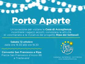 Open Day 2019 - Porte Aperte a Ripa dei Settesoli