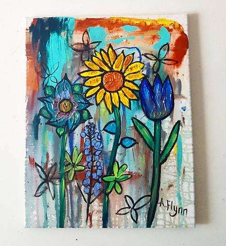 Sunflower Drip