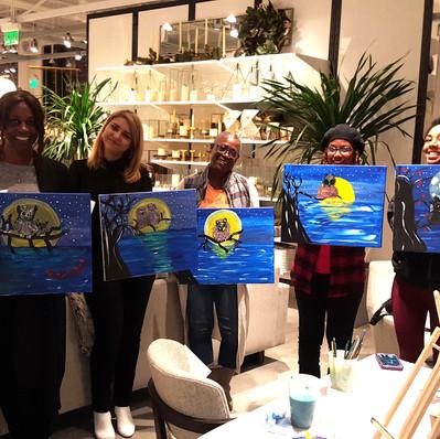 Paint & Sip Santa Monica