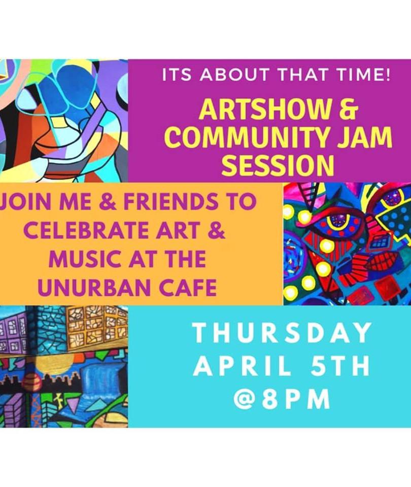 Artshow at Unurban cafe