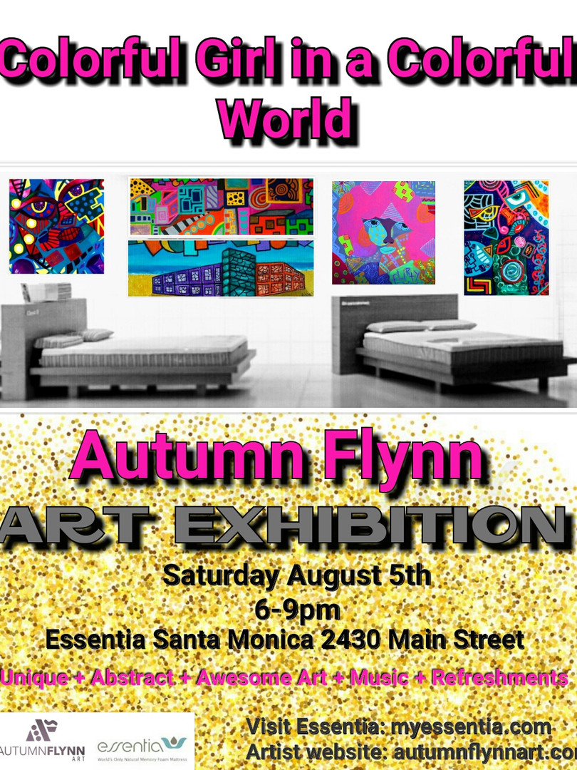 Solo Art Show at Essentia Santa Monica