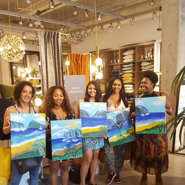 Paint & Sip Pasadena