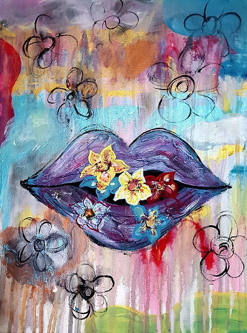 Flower kisses