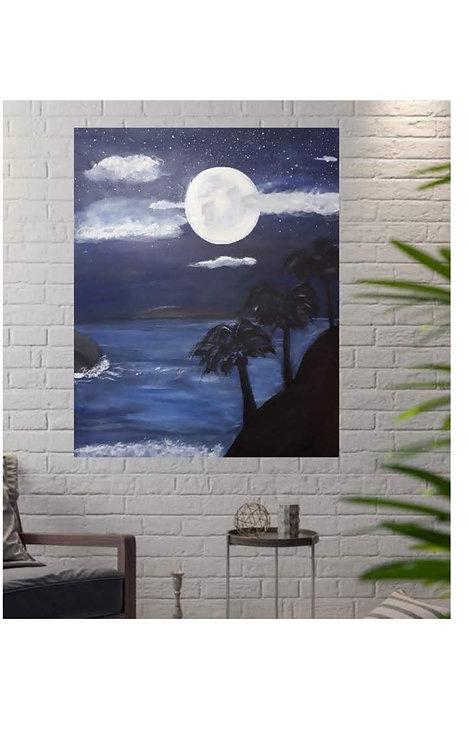 Beach Nights Art Print