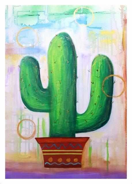 Desert Orbs Art Print