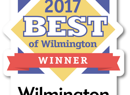 Best of 2017 Winner, Wilmington Magazine