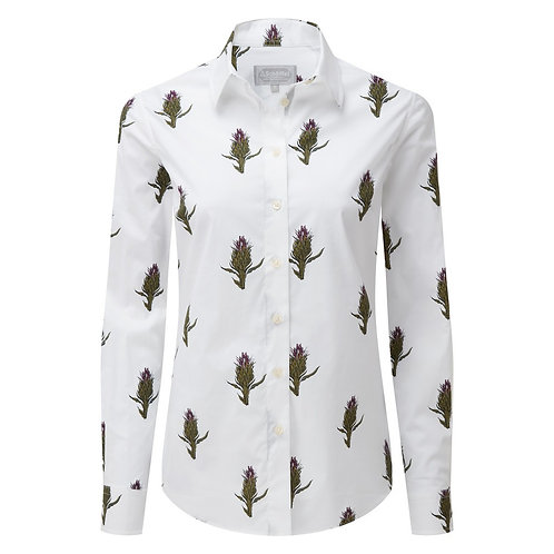 Schoffel Norfolk Shirt | Thistle
