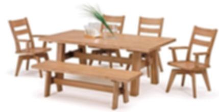 ダイニングテーブル チェア ベンチ
