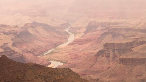 Rainy day at Grand Canyon