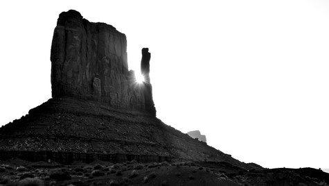 Sunrise @ Monument Valley
