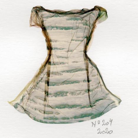 SOLD/ Liquid Dress No 204