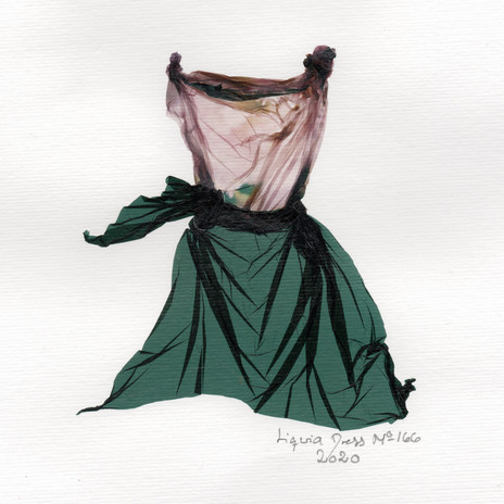 SOLD / Liquid Dress No 166 (USA)