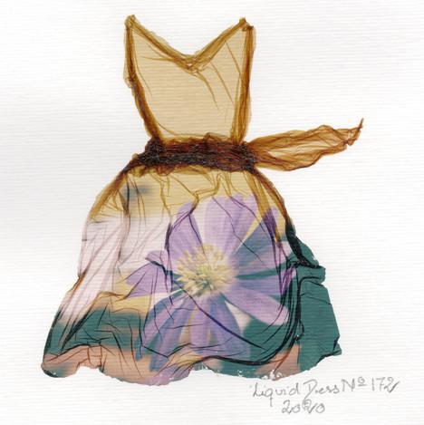 SOLD / Liquid Dress No 172