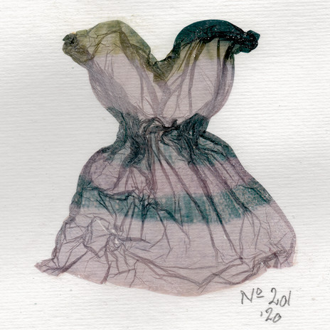 SOLD / Liquid Dress No 201