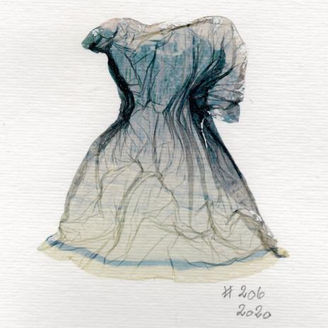 SOLD /Liquid Dress No 206