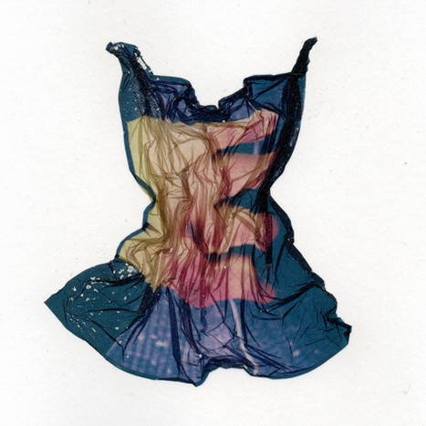 Liquid Dress No 227 (Yellow Plastic Glove)