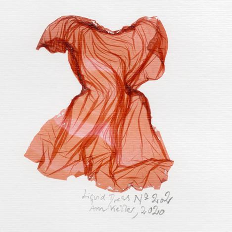 SOLD/ Liquid Dress No 202