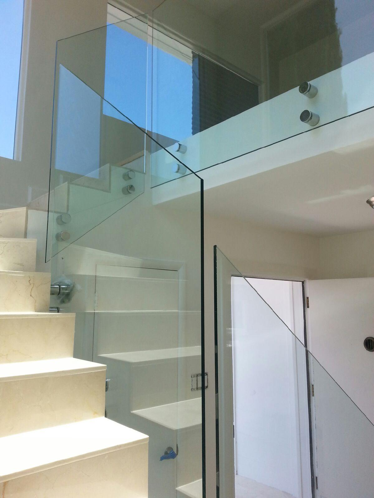 Glass Railing Staircase Systems