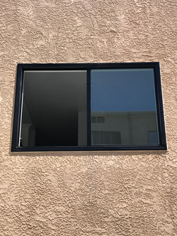 Bronze Vinyl Retrofit Window