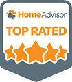 HomeAdvisor Pro AG Glazers Inc - Top Rated Badge