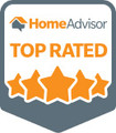 HomeAdvisor Pro AG Glazers Inc - Top Rated Badge