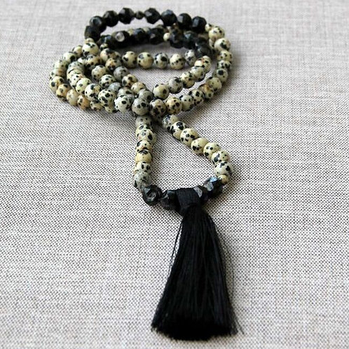 Dalmation Jasper and Tassel