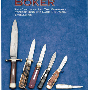 Look Inside the NEW Boker Book!