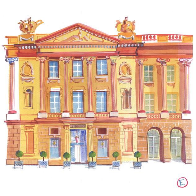 Hotel de Crillon, Parijs