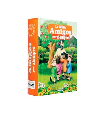Biblia Amigos por siempre para niños/naranja