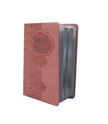 Biblia Fuente de Bendiciones, Rosa Claro