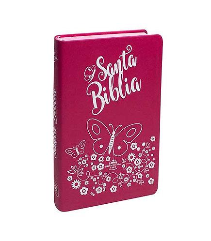Biblia Pink RVR1960,Letra Grande,Índice