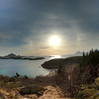 hiking lofoten