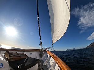 sailing yacht charter norway