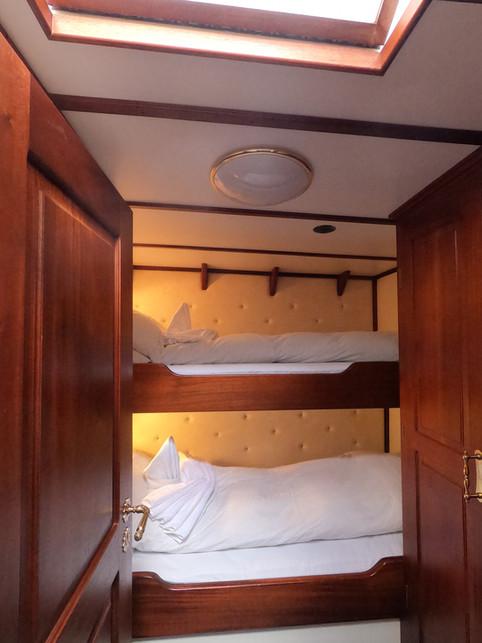 Cabin C-cabin for two aboard sailing yacht stella oceana