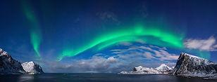 northern light aurora cruise trollfjord