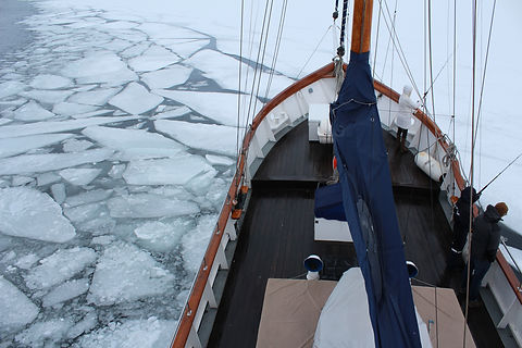 Ice Class Ship - S/Y Stella Oceana - World Sea Explorers